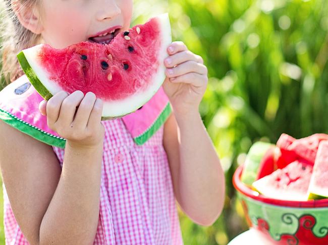 enfant fruit